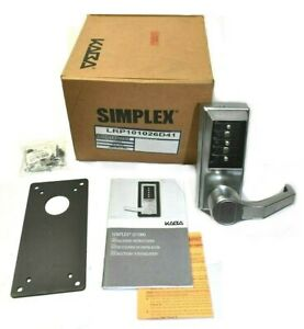 Kaba Simplex Lrp1010 26d 41 Access 3 pin Rh Combination Only Lock Exit Lever