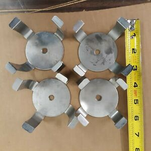 4 Large Flask Clamps Use In Shakers Shaker Bath Laboratory Used Good