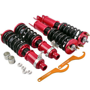 Complete Coilovers For Honda Civic 88 91 90 93 Acura Integra Adjustable Height
