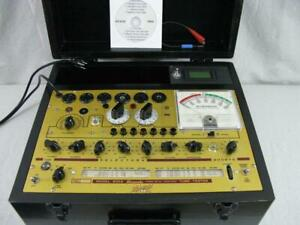 Hickok 600a Mutual Conductance Tube Tester Calibrated Plate Current Meter