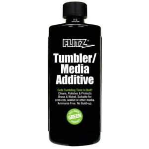 FLITZ INTERNATIONAL TA 04806 FLITZ TUMBLER MEDIA ADDITIVE 16OZ BOTTLE $30.21