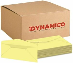 Pastel Canary 10 Color Business Envelopes 4 1 8 X 9 1 2 500 Per Pack
