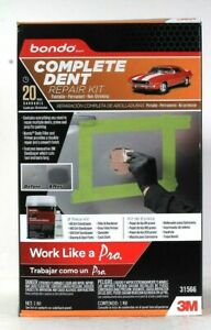 One Bondo 31566 Complete Dent 20 Paintable Permanent Non Shrinking Repair Kit