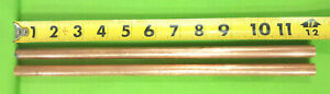 1 2 Copper Solid Round Rod 2 Pieces C110 12 Long New Lathe Bar Stock 500