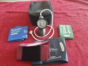 Welch Allyn Ds58 mc Sphygmomanometer Aneroid Durashock Blood Pressure Cuff