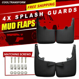 For Ford Super Duty F250 2011 2016 W O Fender Flares Mud Flaps Splash Guards
