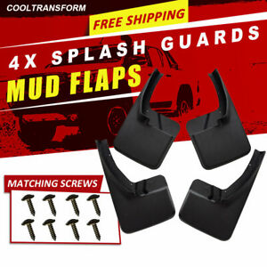 For 2009 2018 Dodge Ram 1500 2500 3500 Mud Flaps Guards Splash Flares Front Rear