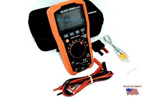 Klein Tools Mm70 Truerms Ip42 tought Digital Multimeter With Case