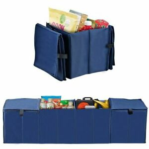 Car Trunk Organizer Cargo Collapse Bag Cooler Container Foldable Storage Bin Box