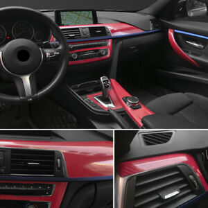 5d 7d Glossy Carbon Fiber Vinyl Film Car Interior Wrap Stickers Auto Accessories