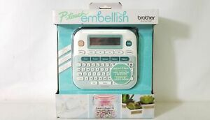 Brother Ptd215e P touch Embellish Ribbon Tape Label Printer