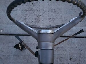 1962 Chevy Biscayne Impala Bel Air Steering Wheel Column And Rag Joint