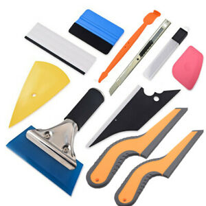 Car Window Wrapping Tint Tools Vinyl Felt Squeegee Water Wiper Application Kit