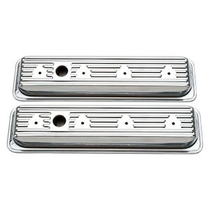 Edelbrock Signature Series Center Bolt Valve Covers Chevy Small Block Gen I