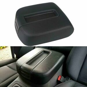 Armrest Lid Center Console Black Fit 07 14 Chevy Cadillac Gmc Pickup Truck
