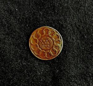 Rare 1787 One Cent 1st Coin Auth By Continental Gov Country General Store