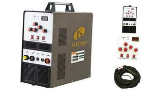Lotos Tig200acdc 200a Ac dc Aluminum Tig Welder With Dc Stick arc 200a Acdc