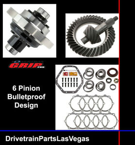Gm Chevy 10 5 14 Bolt Posi Limited Slip Pkg 4 10 Ratio Master Kit Powertrax Pro