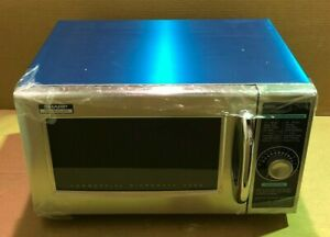 Sharp R 21lcfs Medium duty Commercial Microwave Dial Timer 1000 watts 120 volts
