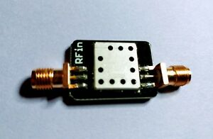869 Mhz Rf Bandpass Filter Band Pass 10 Mhz Bandwidth 864 Mhz To 874 Mhz
