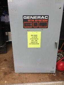 Generac Automatic Transfer Switch 120 Volt A c