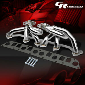 For 00 06 Jeep Wrangler 4 0 Tj Stainless Exhaust Manifold Header o2 Bung Gasket