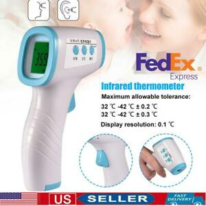 Non contact Infrared Digital Forehead Thermometer Baby Adult Temperature Gun