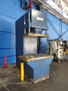 Used 100 Ton Sutherland Spc 4 post Guided C frame Hydraulic Press
