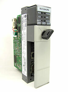 Allen Bradley Slc 500 5 04 Cpu 1747 l543 Ser C Frn 5 Very Good Condition