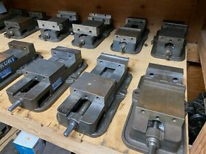 Lot Of 8 Kurt Precision Machine Vise 6 Inch Jaws For Bridgeport Haas Fadal Mil