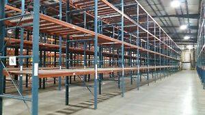 Used Pallet Racking Industrial Shelving 60 Deep X 108 Wide X 246 High