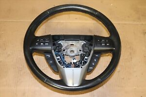 2013 Mazdaspeed Mazda 3 Hatchback Turbo Oem Steering Wheel Black W Controls