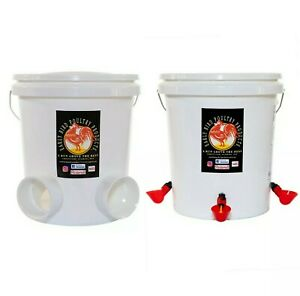 Automatic Poultry Waterer Feeder Combo