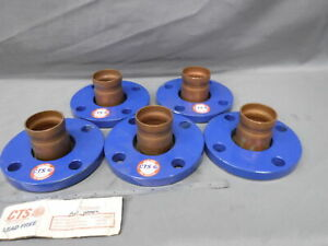 Cts Flange Copper Roll Groove 2 50mm Lot 5x