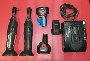 Snap On Ctr2512 1 4 Ctr3812 3 8 Cordless Ratchets Battery Adapter And Charger
