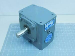 Boston Gear 718 10 g Right Angle Worm Gear Speed Reducers T151810