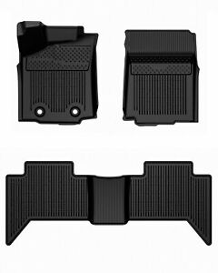 Tpe Floor Mats For 2016 17 Toyota Tacoma Crew Cab Trd Pro Protection 3d Set