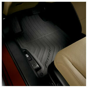 Honda Oem 2013 217 Accord 4dr All Season Floor Mats 08p13 T2a 110