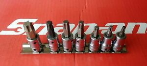 Snap On Tools 3 8 Drive 7 Pc Standard Torx Socket Driver Set 207ftxy T27 T55