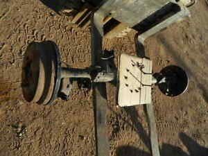 Toyota 4runner Rear End Differential W Diff Locker Axle Carrier Housing W Axles