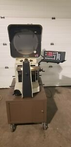 14 Deltronic Model Dh214 Optical Comparator W dro Stand