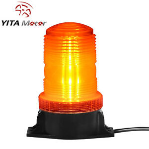 Amber Rooftop 30led Warning Strobe Light Flashing Safety Beacon Light Tractor