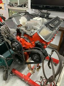 Chevrolet 402 Engine Built Chevy 402 Big Block Engine With Edelbrock Parts