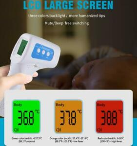 New Berrcom Non contact Infrared Forehead Thermometer Fever Check Usa Seller