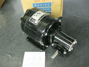 Bodine Ac Right Angle Gearmotor Nsi 33r 1 20 Hp 170 Rpm 115 Volts Ns1 33r