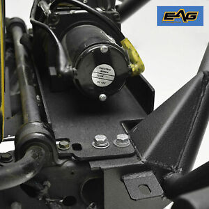 Eag Fit 1987 2006 Jeep Wrangler Tj Yj Winch Mounting Plate