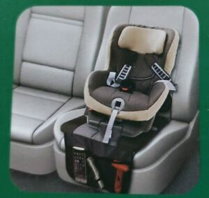 Turtle Wax Interior Back Seat Booster Protector With Organizer Car Suv Truck