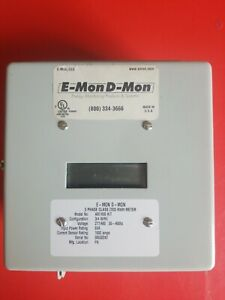 E mond mon 3 Phase Class 2000 Kwh Meter 4801600 Kit 277 480 Voltage 1600amps