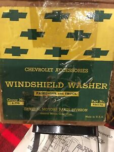 1942 1954 Chevrolet Gm Windshield Washer Nos Truck Passenger
