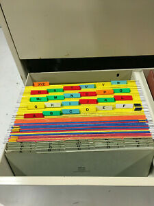 41 Pendaflex Hanging Folders 4153 5 And 25 Smead Green Dividers All Legal Size